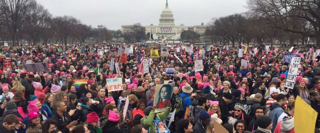 ABC News, Women's March in DC, January 21, 2017